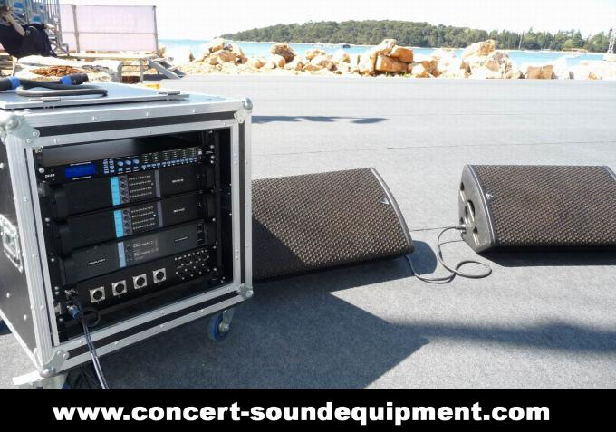 Line Array Sound System / FP 10000Q Switch Mode Amplifier Fixed With NEUTRIK Connectors