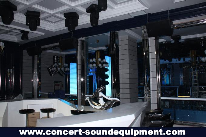 "Conference Room Audio Systems , 1.75"" + 15"" Plywood 450W Full Range Speaker For Installation"