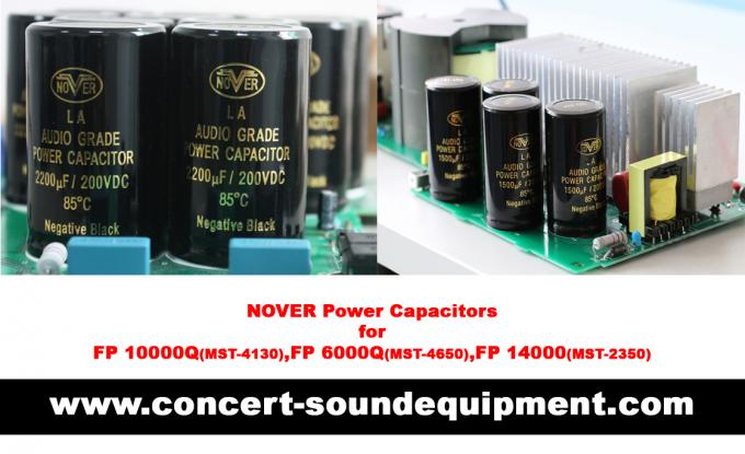 FP 14000 2 x 2400W Concert Sound Equipment , 2 Channel High Stability Switching Amplifier