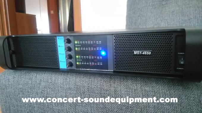 4 Channel Switch Mode Amplifier / 4x650W FP 6000Q For Stage Monitor And Small Line Array Speaker