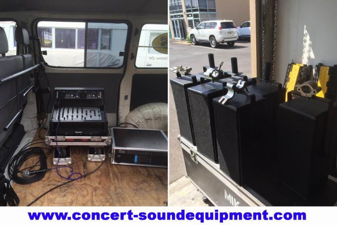 Line Array Sound System , FP 10000Q 4 Channel Switch Mode Amplifier 4x1300W
