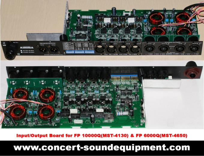 High Stability 4x1300W Switching Power Amplifier FP 10000Q With Neutrik Connectors