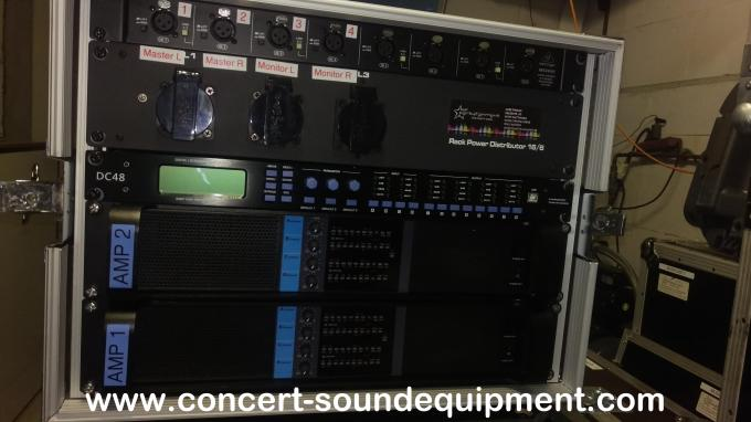 4 Channel Line Array Pro Audio Speaker Class TD With Switching Amplifier