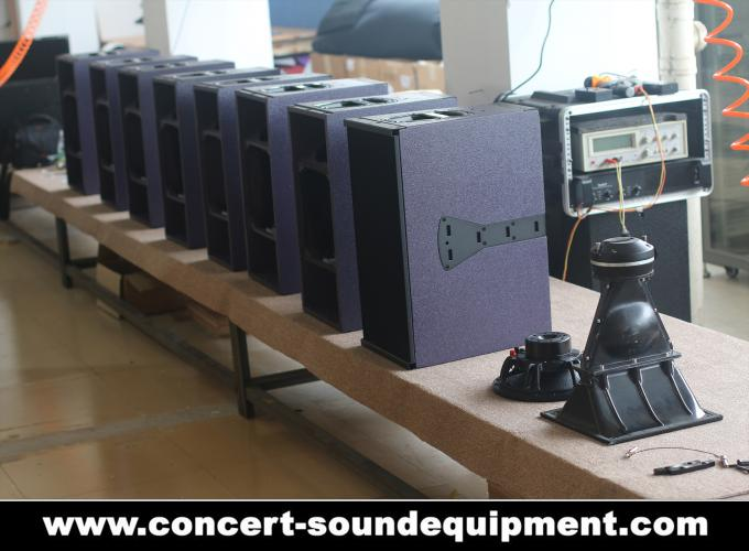 "480W Full Range Line Array Speaker With 1.4""+2x10"" Neodymium Drivers For Concert And Installation"
