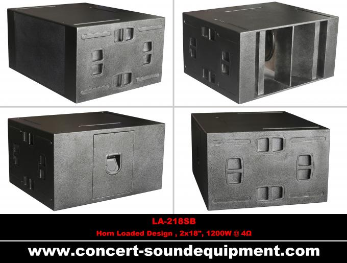 "480W Concert Sound Equipment , Full Range Line Array Speaker With1.4""+2x10"" Neodymium Drivers"