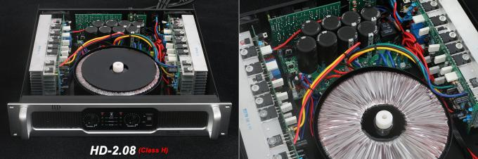2x600W Stable Analog Audio Amplifier For Living Event, Conference, Church and Concert