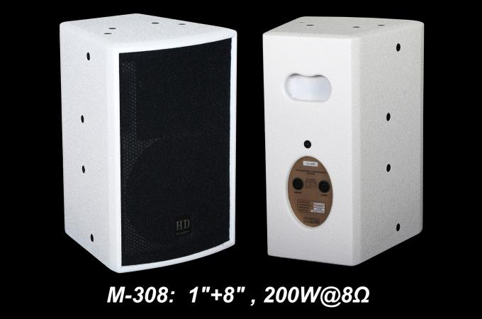 "475W 1.4"" + 15"" Full Range Speaker Sound Equipment For Nightclub , Disco , Conference And Church"