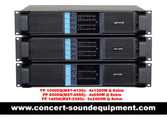 China High Stability 4x1300W Switching Power Amplifier FP 10000Q With Neutrik Connectors supplier