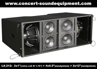China Dual 12 Inch 1400W Line Array Speaker With Neodymium Drivers For Concert , Living Event supplier