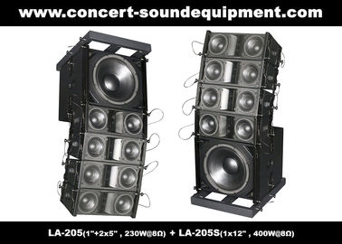 "China Dual 5"" 8ohm 230W Mini Line Array Speaker For Fixed Installation In Conference, Pub, Auditoria supplier"