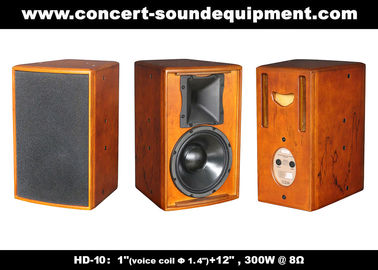 "China 400W Nightclub Sound Equipment /  1""+12"" Full Range Speaker For Pub, Karaoke, Conference supplier"