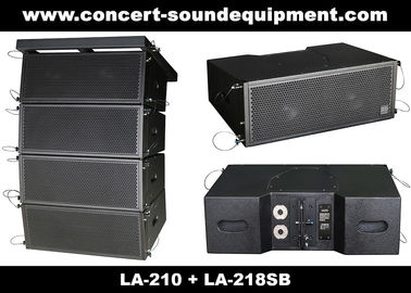 "China Concert Sound Equipment / 480W Line Array Speaker With1.4""+2x10"" Neodymium Drivers supplier"