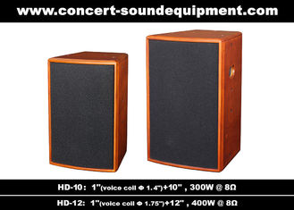 "China 400W Nightclub Sound System 1""+12"" Full Range Speaker For Pub , Karaoke , Conference supplier"
