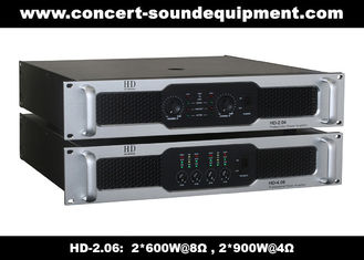 China 8Ω Stereo Output 2 X 600W Analog Audio Amplifier For Living Event / Concert supplier