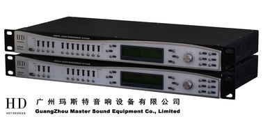 China 682ms Digital Sound Processor / 4 input , 8 Output Digital Signal Processor For Concert And Living Show supplier