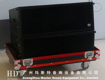 "China Full Range 680W Line Array Sound System / LA-210 dual 10"" Mid Long Throw supplier"