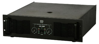 China 2 Channel Analogue Audio Amplifier 2x1500W For Subwoofers In Nightclub And Concert supplier
