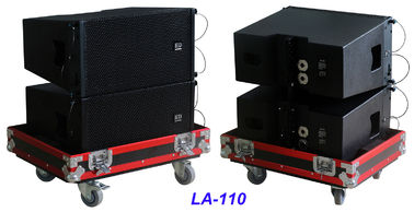"China Single 10"" Full Range Line Array Speaker LA-110 For Party , Living Event , Church and Wedding supplier"