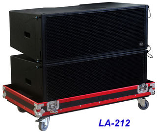 China LA-212 Line Array Speaker 3 way 1560W High Power Dynamic , Clarity for Big Concert , Show and Church supplier