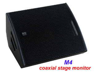 "China PA Sound Equipment 480W 3"" + 15"" Plywood Coaxial Stage Monitor For Living Event And Show supplier"