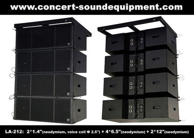 China Dual 12 Inch 1560W Line Array Speaker With Neodymium Drivers For Concert , Living Event supplier