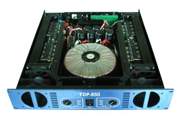 China Night Club 2 Channel Power Amplifier / Pro Audio Speakers 8Ω supplier
