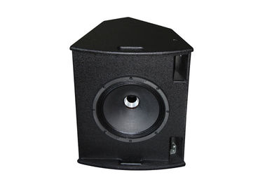"China 300W Live Sound Speaker / 1.75""+12"" Black Stage Monitor With Clear Sound supplier"