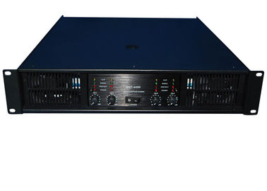 China Class AB Pro Sound DJ Equipment Analogue 4 Channel For Pub 4×450W supplier