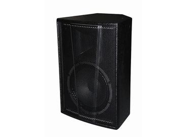 China 300W Live Sound Speakers Stage Monitor , Plywood Cabinet For Disco supplier