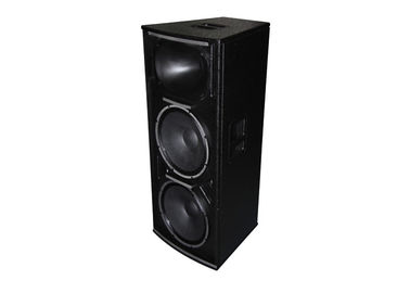 China Plywood Cabinet Conference Audio Systems 3 Way 2 Crossover 800W High Power supplier