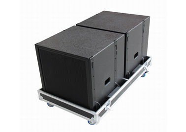 "650W 8ohm Line Array System High Power With Single 18"" LF Driver"
