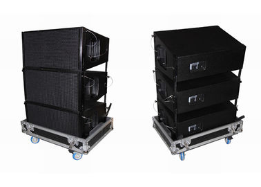 "China Plywood Cabinet Church Audio Equipment Black For Celestion 1.4"" supplier"