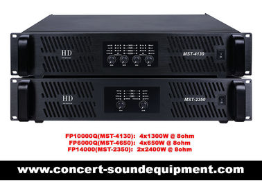 China FP10000Q FP14000 Switch Mode Power Amplifier For Line Array Speaker / Subwoofer supplier