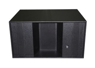 "China 1200W Subwoofer Line Array Sound System For Disco , Horn Loaded 2x18"" supplier"