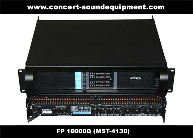 China Line Array Sound System / FP 10000Q Switch Mode Amplifier Fixed With NEUTRIK Connectors supplier