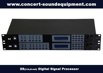 China 2 in 6 out Digital Sound Processor / Audio Digital Signal Processor supplier