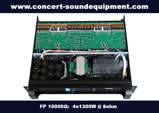 China 4 Channel Church Sound Systems Class TD 4x1300W Switching Amplifier supplier