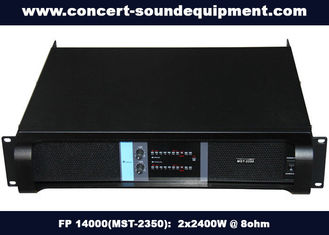 China High Stability Switch Mode Amplifier 2x2400W FP 14000 For Living Show And Concert supplier