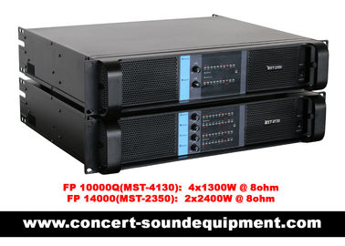 China DJ Sound Equipment Switch Mode Power Amplifier 4 Channel 4x1300watt supplier