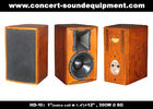 "China 400W Nightclub Sound System 1""+12"" Full Range Speaker For Pub , Karaoke , Conference factory"