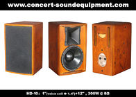 "Good Quality Concert Sound Equipment & 400W Nightclub Sound System 1""+12"" Full Range Speaker For Pub , Karaoke , Conference on sale"