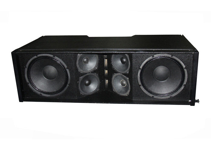 Plywood Cabinet Line Array Sound System 8 Pin Waterproof