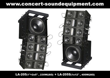 "China Dual 5"" 8ohm 230W Mini Line Array Speaker For Fixed Installation In Conference, Pub, Auditoria distributor"