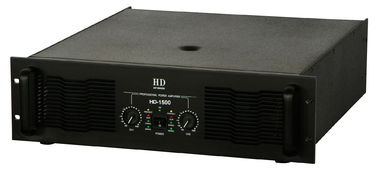 China 2 Channel Analogue Audio Amplifier 2x1500W For Subwoofers In Nightclub And Concert distributor