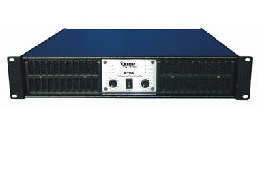 China 2 Channel Switching Power Amplifier , Light Weight Amplifier Class TD distributor