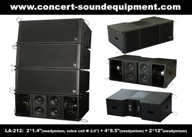 China 3 - Way 1560W High Power LA-212 Line Array Speaker Dynamic And Clarity For Concert / Nightclub distributor