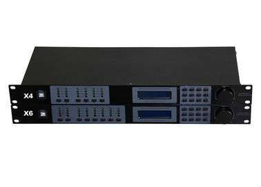 China Digital Processor PA Sound System 2 Input 6 Output Manual Operation factory