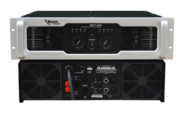 China Analogue Pro Sound DJ Equipment 2 Channel , Class H 2×950W 8Ω distributor