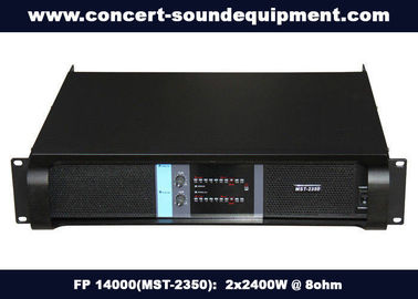 China 2 Channel Stereo Power Amplifier FP 14000 With NEUTRIK Connectors And Copper Heat Sink distributor