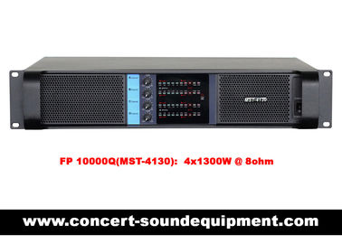 China Disco Sound Equipment / FP 10000Q Switch Mode 4 Channel 4x1300W Amplifier distributor